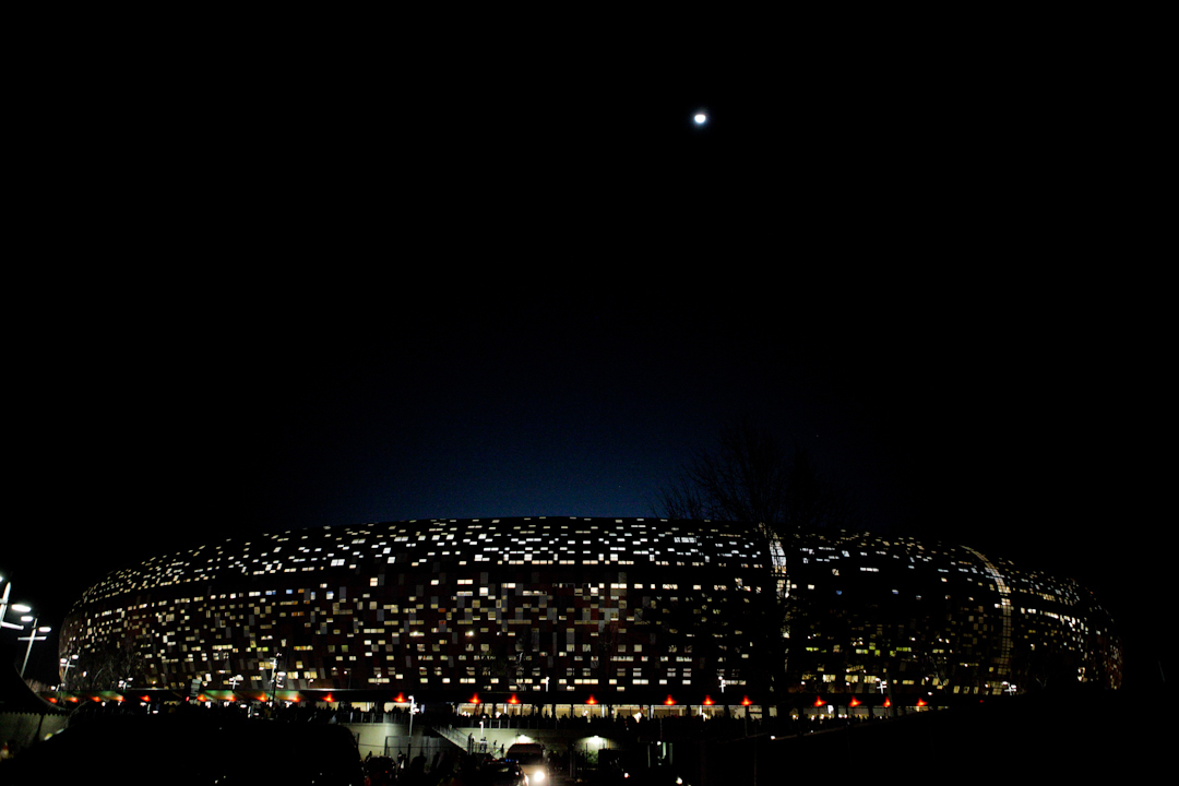Soccer City. Johannesburg, South Africa.