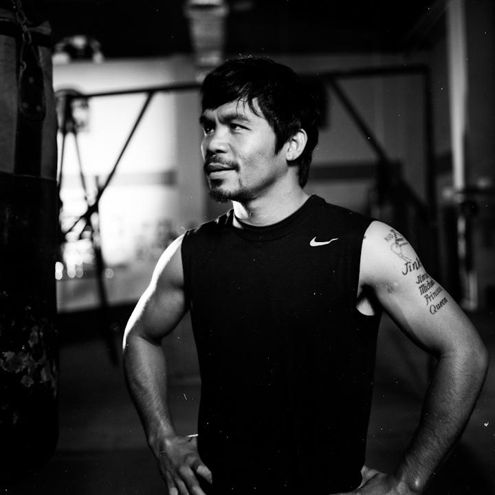Manny Pacquiao in Manila