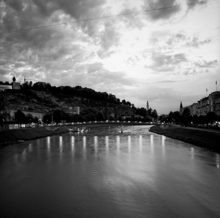 Wien River.Vienna