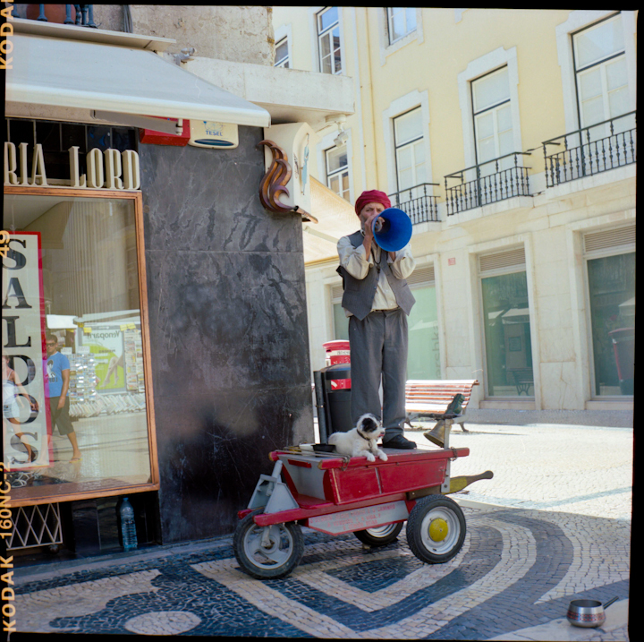 Street Performer. Lisbon