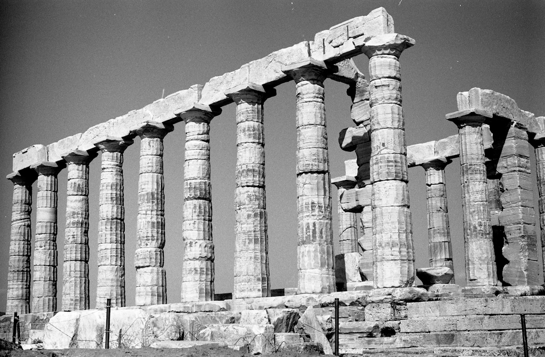 Temple of Poseidon.  Cape Sounion