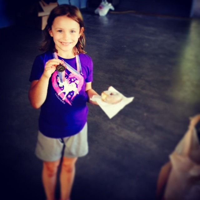 "Medals and donuts! Win/win at yesterday's LFoD500 ""Fun Run"""