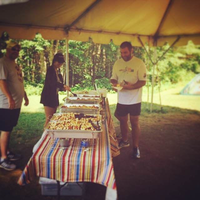 Huge thanks to Wild Nick's Cafe! All runners and volunteers were well fed yesterday. Best waffles in New England!
