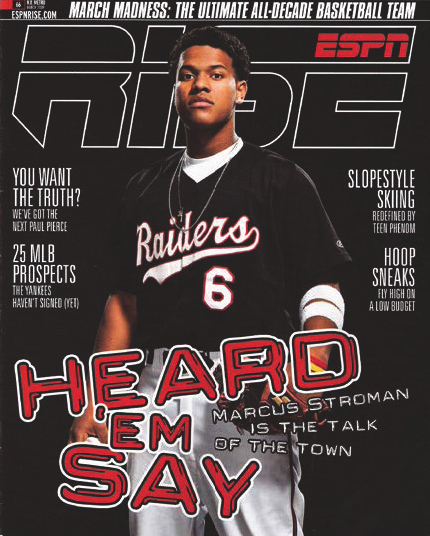 ESPN Rise Magazine - March 2009