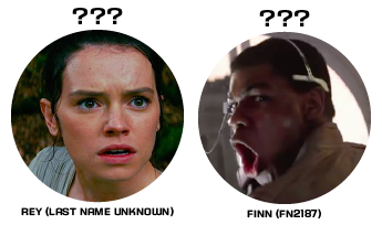 Now that the family tree has been revealed, what about the other main characters Rey and Finn?
