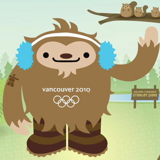 """"""" In Defense of Quatchi """" - A cheeky ode to the 2010 Canadian Olympic mascots, featured on the  The Curator ."""