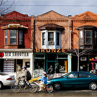 """"""" A Tree Grows in Leslieville """" - An insider's guide to """"Toronto's Brooklyn,"""" featured on  The Curator ."""