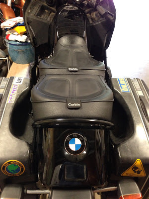 Corbin Seat on My BMW R100RT — Airhead Moto