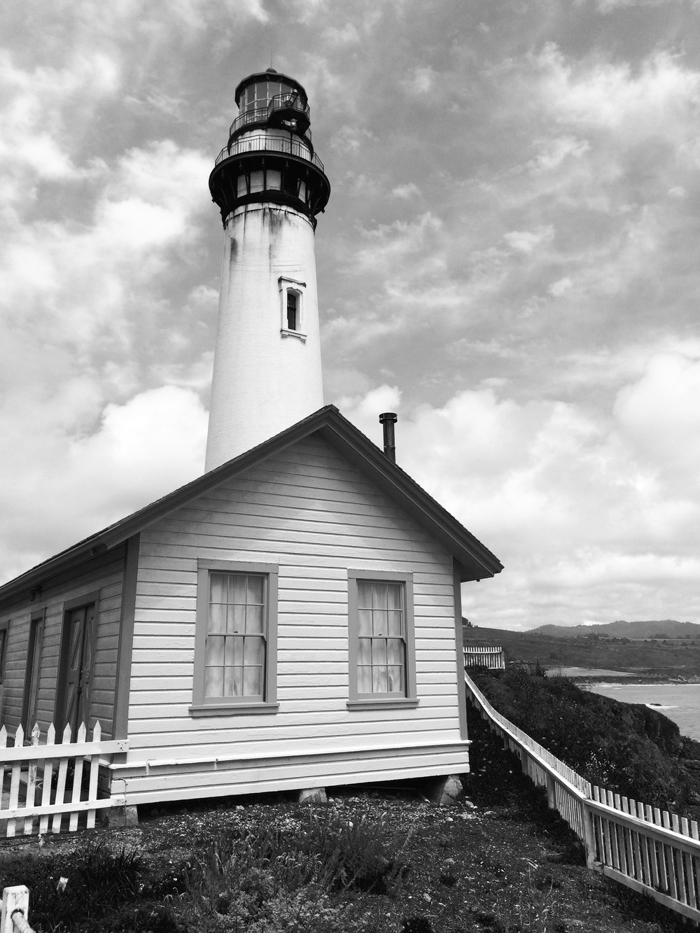 Historical Site: Light House along PCH
