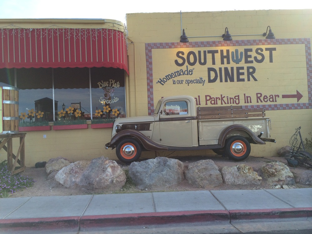 Our breakfast diner in Boulder City, NV .
