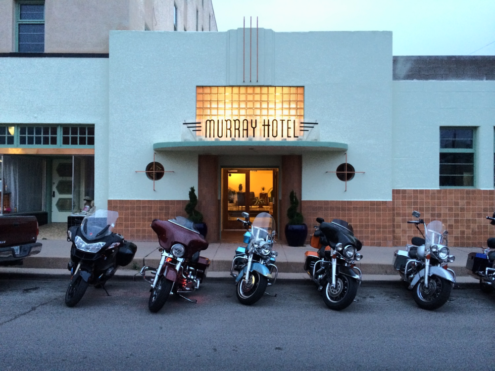 The Murray Hotel in Silver City, New Mexico