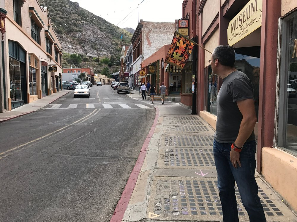 Marco gets lost in Bisbee!