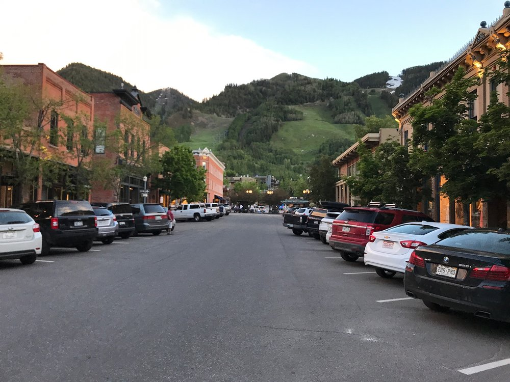 Downtown Aspen, CO.