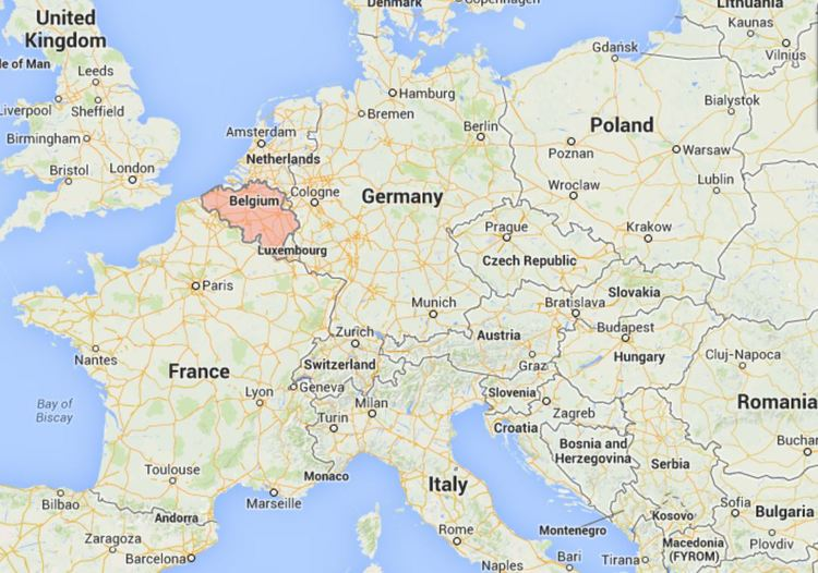 Where Is Belgium On The Map Of Europe Thefreebiedepot
