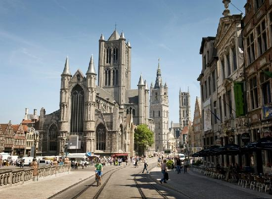 Ghent, boasting its famouspedestrian area that preserves the early Flemish architecture and a testament to the city's medieval might. (Credits: Tripadvisor)