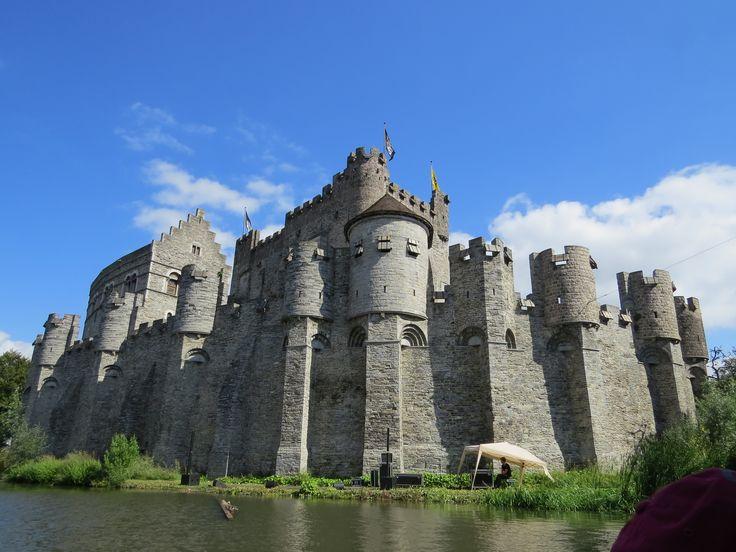 Gravensteen Castle in Ghent, Belgium (Credits: Pinterest)