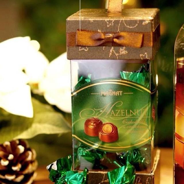 Magnat Hazelnut Pralines. Read more about it at www.worldofcandies.com #candy #christmas #chocolates #candyempire #candyempiresg #foodporn #pralines #singapore #desserts #worldofcandies