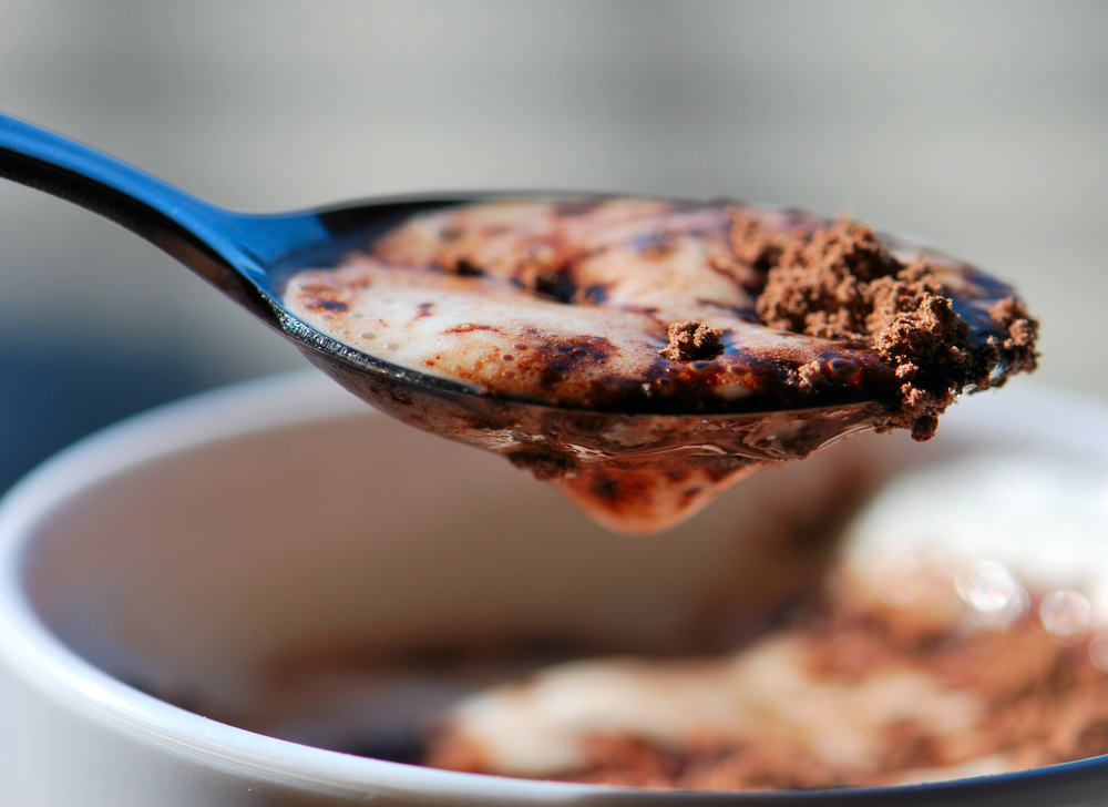 Chocolatey Caotina goodness in a spoon. (Credits: ladema on Flickr)