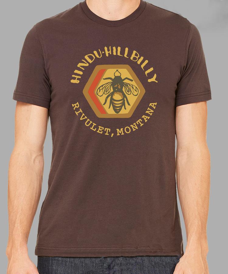 63776ad75b02 Hindu Hillbilly & Rivulet Apiaries T-shirt — Hindu Hillbilly ...