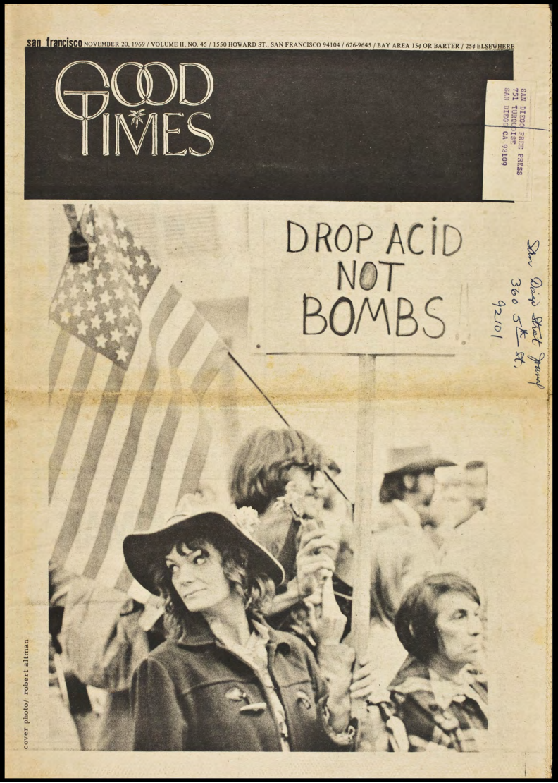Images from Adam Matthew Digital's Popular Culture in Britain and America, 1950-1975: Rock and Roll, Counterculture, Peace and Protest collection.