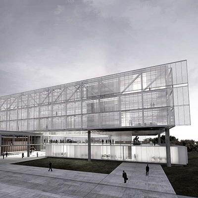 3º lugar - 2014 - concurso nacional de arquitetura para o novo anexo da câmara municipal de porto alegre