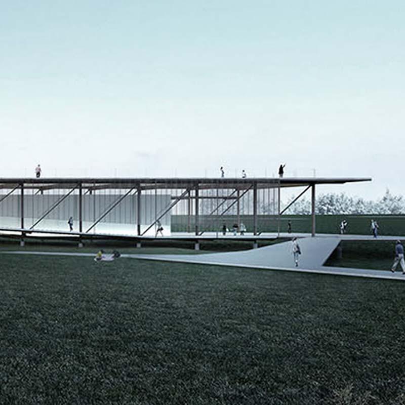 1° lugar - 2015 - concurso nacional de arquitetura para casa da sustentabilidade em campinas - sp
