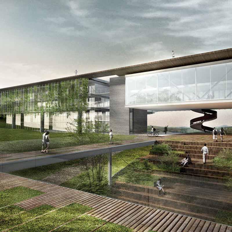 1° lugar - 2012 - concurso fechado de arquitetura aliah hotel