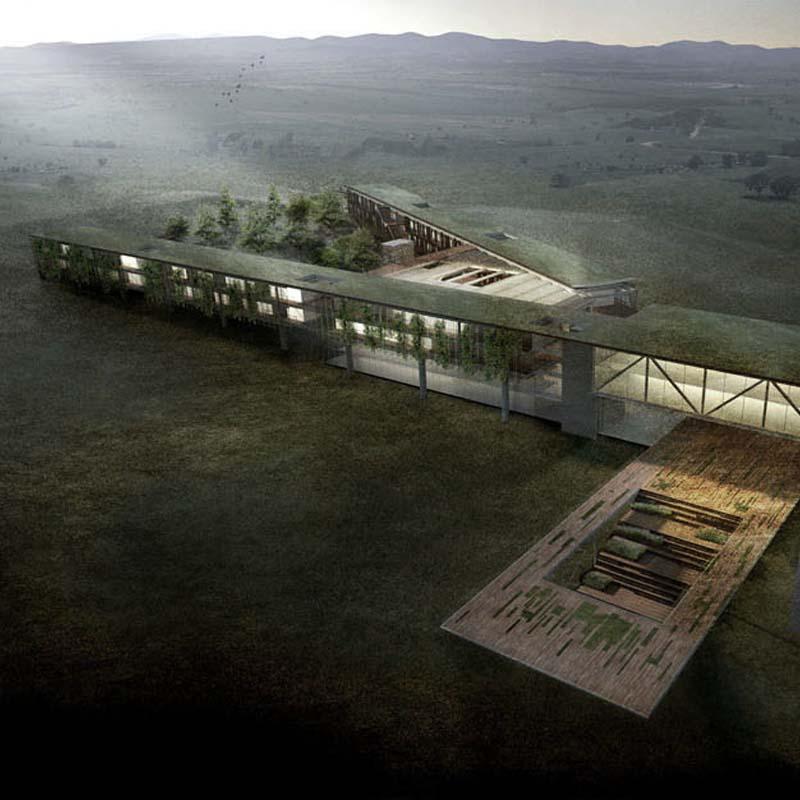 melhor projeto de todas as categorias - aliah hotel2015- prêmio saint-gobain de arquitetura sustentável