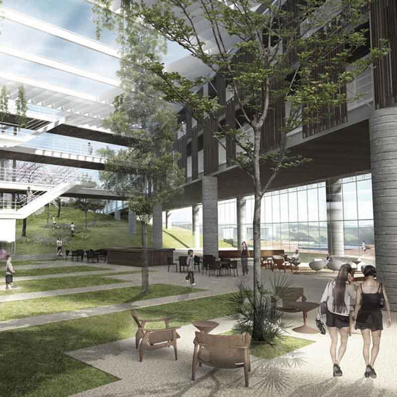 1º lugar categoria empresarial - aliah hotel2015- prêmio saint-gobain de Arquitetura Sustentável