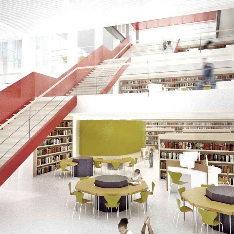 2° lugar - 2010 - concurso nacional de arquitetura para a nova biblioteca pública de santa catarina