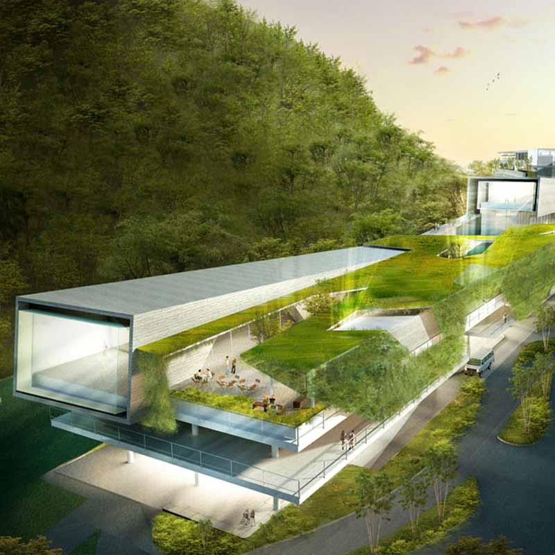 menção honrosa - 2009 - concurso nacional de arquitetura para a requalificação e ampliação do hotel paineiras, rio de janeiro