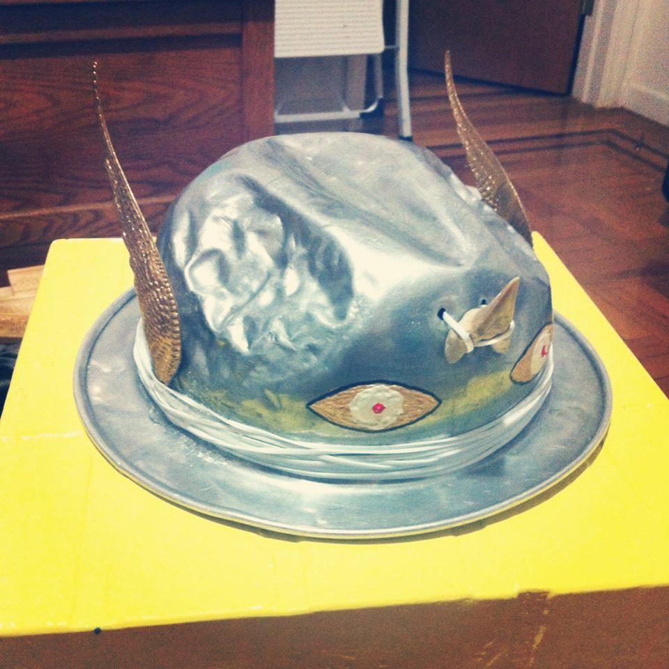 War Helmet/ Fedora