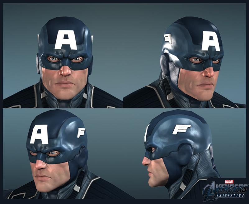 Captain America Face