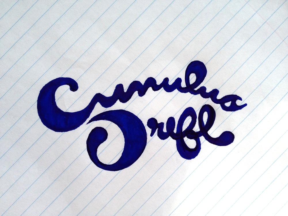 Cumulus Drift Logo Sketch