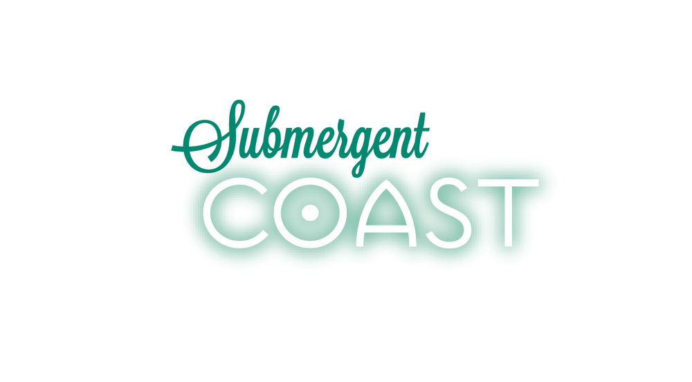 Submergent Coast Logo Vector