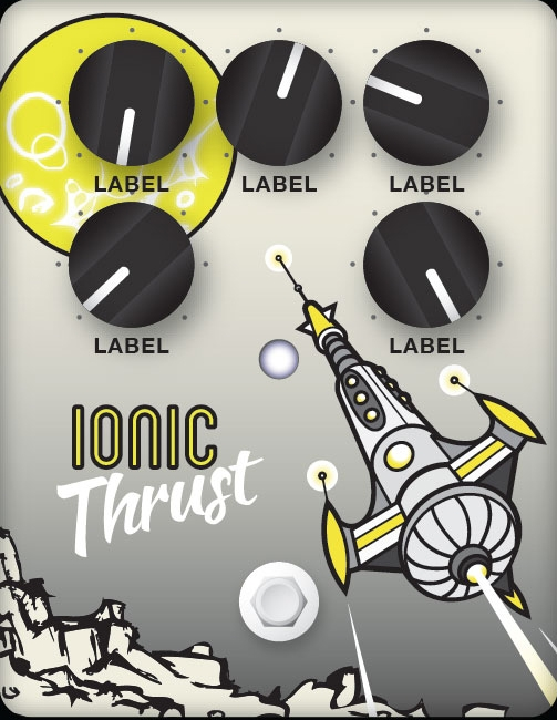 Ionic Thrust Guitar Pedal Design
