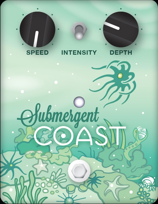 Submergent Coast Pedal Design