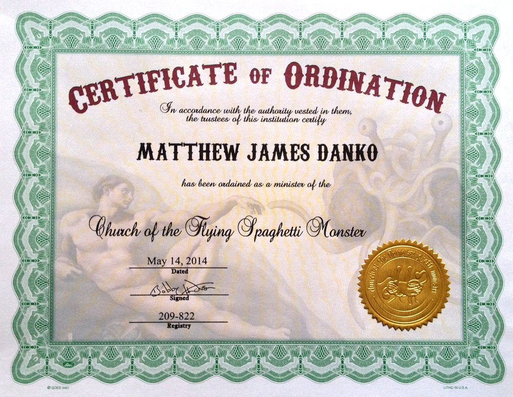 DankoOrdinationCertificate
