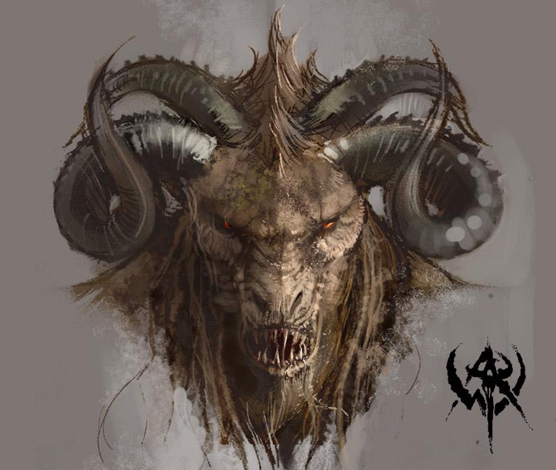 Beast-man illustration