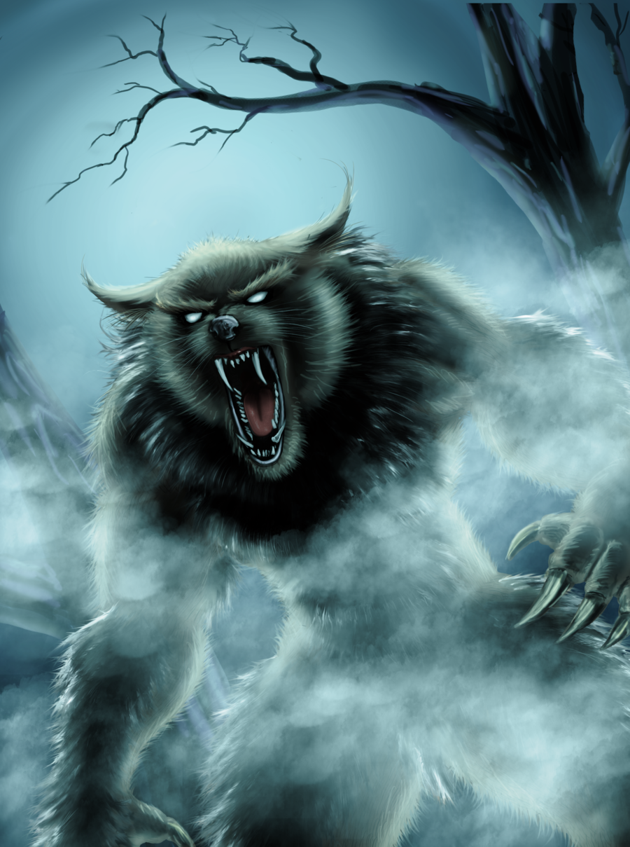 Lycanthrope illustration
