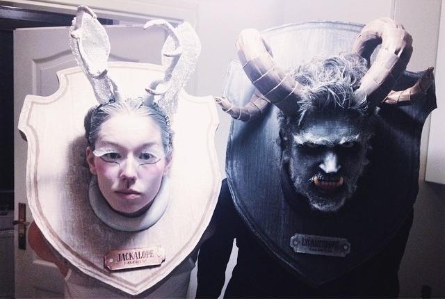 Mythological Taxidermy (Final Costumes), Hallowe'en 2014