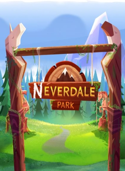 The Gates of Neverdale Park, featuring the game logo
