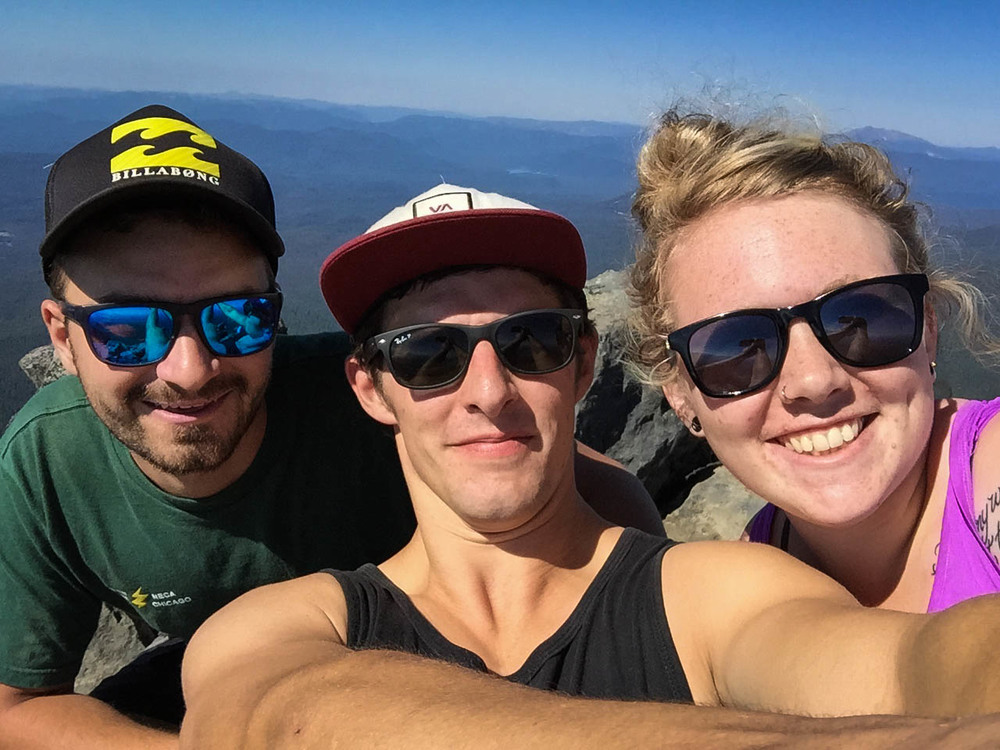 Shameless Summit Selfie!
