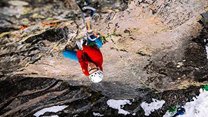 Ice Climbing for Trango