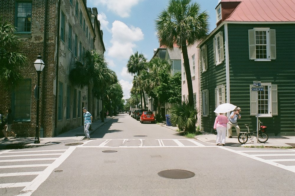 Church Street. Shot on 35mm