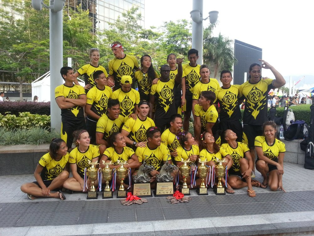2015 Hong Kong DragonBoat Champion. Click Picture for Full Story.