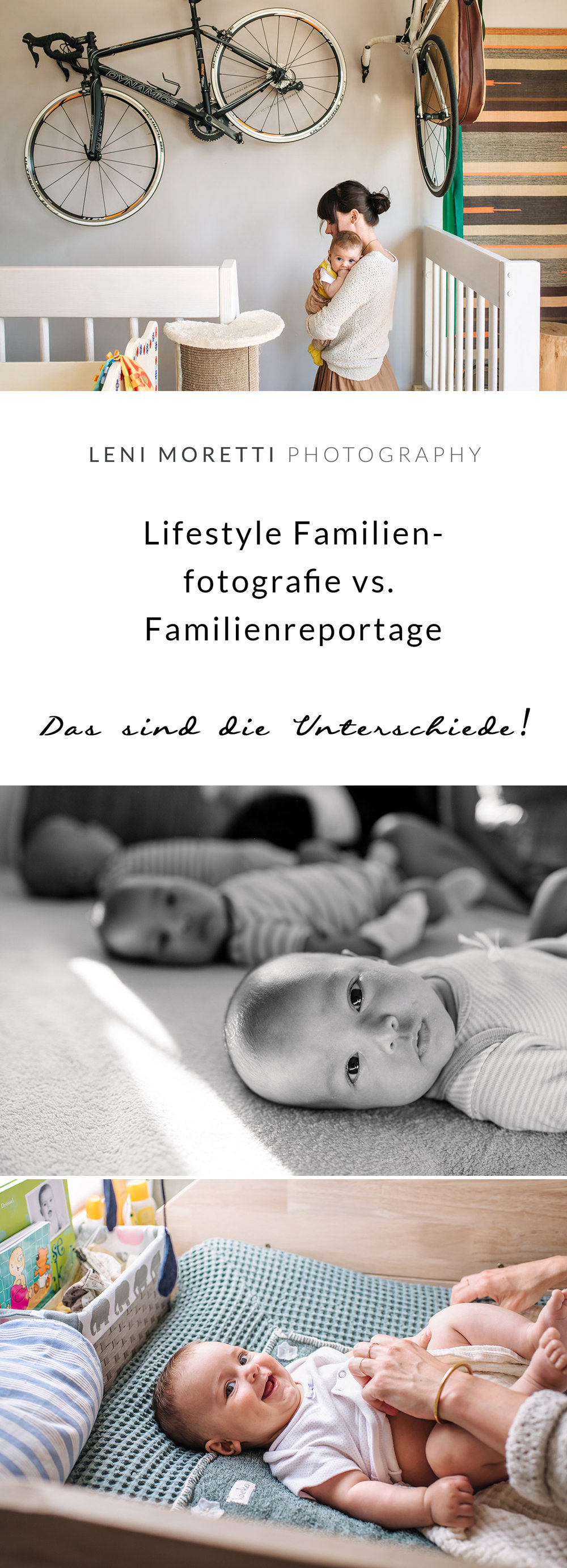 Homestory vs. Lifestyle vs. Reportage-Familienfotos.  Pin mich.