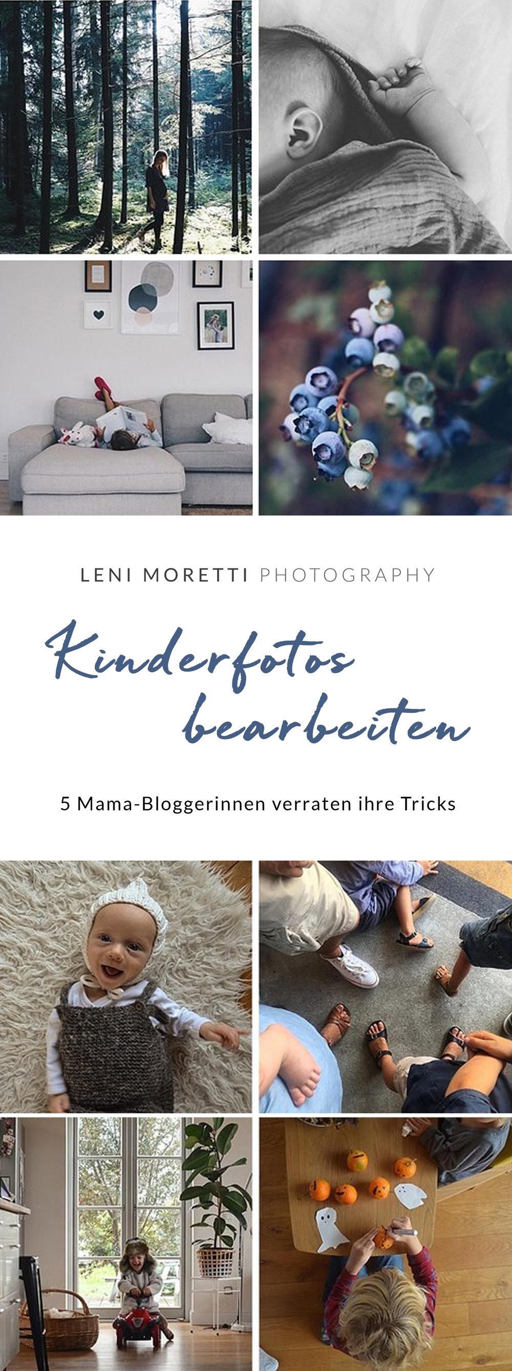 Bildbearbeitung von Kinderfotos. Merke Dir diesen Pin auf Pinterest! © lenimoretti.com