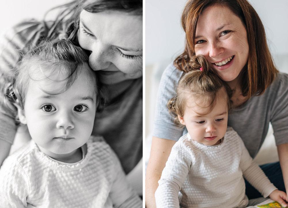 Mutter-Tochter-Fotografie