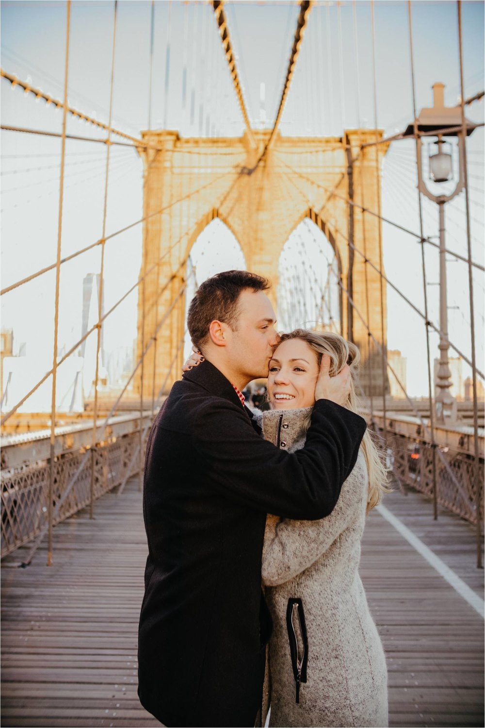 Dumbo engagement photos - nyc engagement photographer - brooklyn bridge engagement photos - ny engagement photo ideas